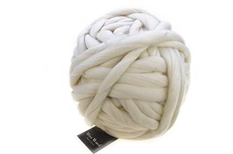 Schoppel Miss Wool Fb. 980 natur - Wolle zum Armstricken / Fingerstricken 1 Ball = 500 Gramm Merino Wolle aus Patagonien