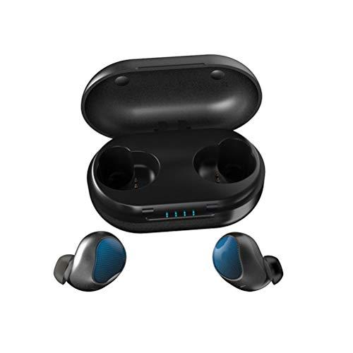 Ching Bluetooth OhrhöRer Drahtlose OhrhöRer Mini Bluetooth HiFi FunkkopfhöRer Spielzeit Sweatproof Sound Eingebautes Mikrofon Ladekoffer