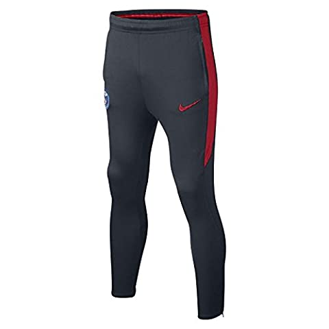 Nike - PSG Y PANT SQD KPZ - Pantalon - Bleu - S - Unisex Enfants