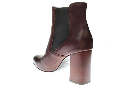 Chelsea Bootee Botas Limpar Goldmud Das Bordo Sapatos Wgm5235 Mulheres qwHZwCxtI