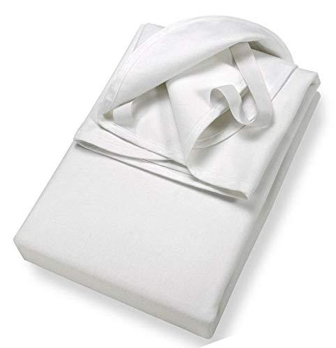 MyHoppi Atmungsaktive Matratzenschoner - Wasserundurchlässige Matratzenauflage mit Eckgummies - Matratzenschutz für Kinder und Babys - Babybett - Kopfkissenschoner - Hygiene - Schutz