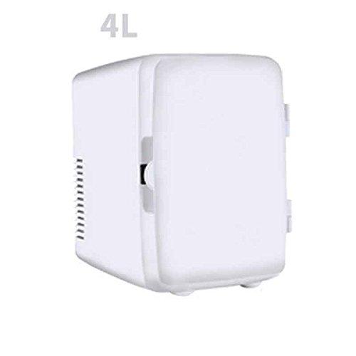 Sunjun 4L Auto Kühlschrank Kühlschrank Gefrierschrank Cold And Cold ( Farbe : Weiß )