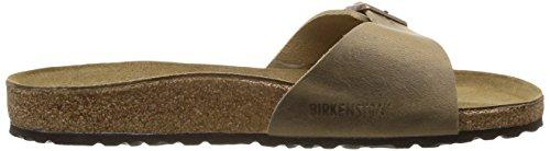 Birkenstock Classic MADRID FL 440883 Damen Clogs & Pantoletten Beige (tabacco Brown)