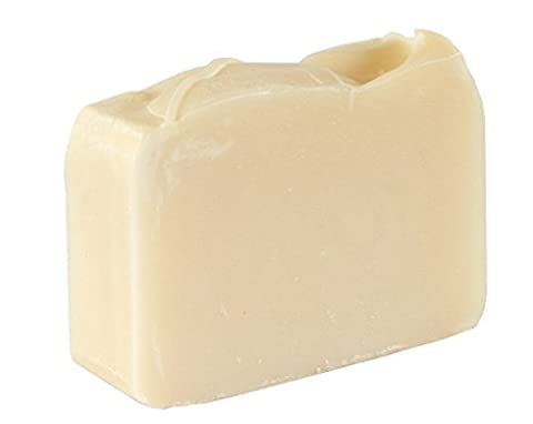 Natural White Soap Bar - Hypoallergenic, Fragrance Free And Dye Free (4OZ) - Organic Bar For Sensitive Skin. Moisturizing Body Soap For Skin And Face. With Shea Butter, Coconut Oil 4 OZ Soap Bar
