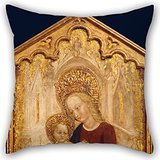 uloveme-oil-painting-cristoforo-moretti-the-virgin-and-child-enthroned-pillow-covers-20-x-20-inches-