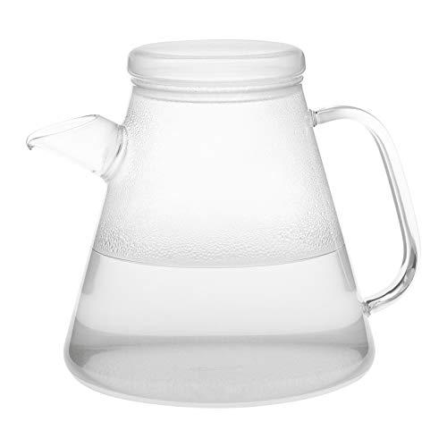 Trendglas Jena innovativer Wasserkocher VESUV aus Borosilikatglas, 1,1 Liter