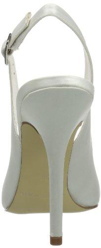 Menbur Wedding - Claudia, Scarpe col tacco Donna Color Osso (Elfenbein (Ivory 04))