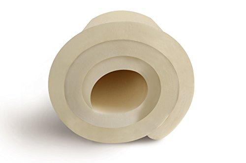 Visco Matratzentopper ohne Bezug, Topper für Matratze und Boxspringbett made in Germany, ÖKO-TEX® zertifiziert, für Rollmatratze und Zonen Kaltschaummatratze geeignet, Härtegrad (140 x 200 cm)