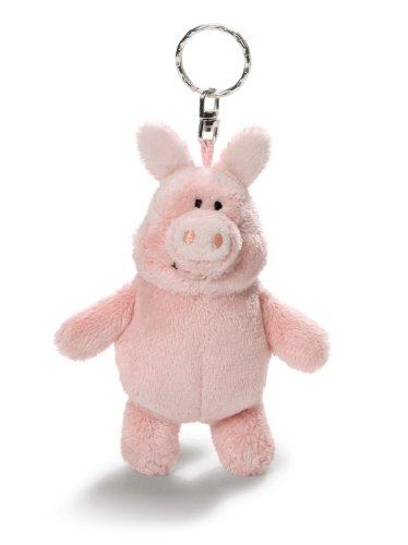 Nici 33619 - Shaun das Schaf Schlenker Schwein mit Sound, 15 cm