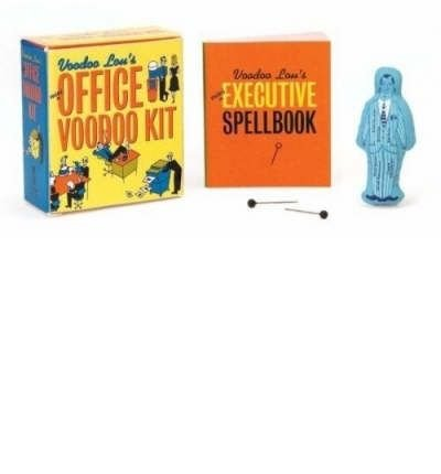 (Mini Office Voodoo Kit [With Voodoo Doll and Stickpins]) By Lou, Voodoo (Author) Paperback on (04 , 2004)