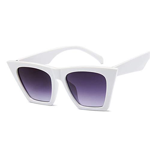 Sport-Sonnenbrillen, Vintage Sonnenbrillen, Fashion Cat Eye Sunglasses Women Designer Luxury Sun Glasses For Women Square Oversized Shades Female Lady