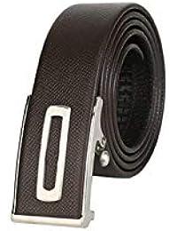 Lannister Fashion Cinturones De Moda Para Hombres De Negocios Regalos  Cinturones Juveniles Para Hombres Con Hebilla Automática Cinturón… 050d5be3abb8