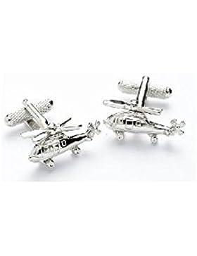 Neuheit Herren Manschettenknöpfe–Hubschrauber-Design