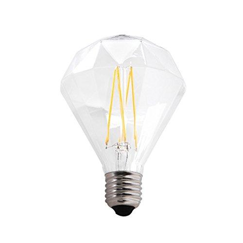 Beliani LED Glühbirne E27 6W 9,5 x 12,8 cm Diamant