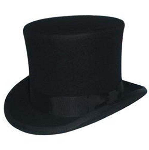 Générique Chapeau Laine Noir Hommes Fedora Trilby Toca Sombrero Cadeaux de Noël