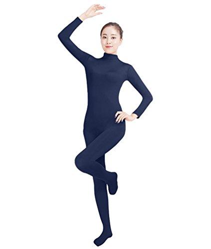 NiSeng Erwachsener und Kind Ganzkörperanzug Anzug Kostüm Ganzkörperanzug Halloween Kostüme Marine 3XL