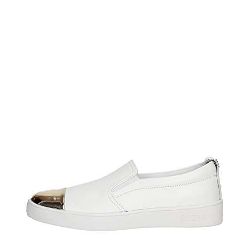 Guess FLGNN1-LEM12 Slip On Donna Pelle WHITE WHITE 39