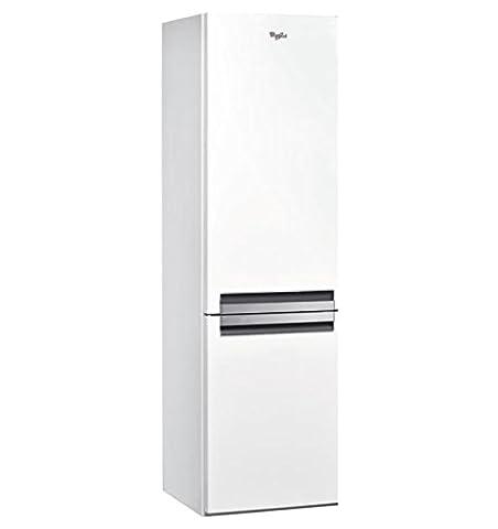 Whirlpool BSNF 8152 W Autonome 316L A++ Blanc réfrigérateur-congélateur - réfrigérateurs-congélateurs (Autonome, Blanc, Droite, Verre, 316 L, 356
