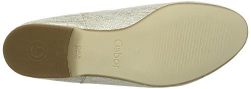 Gabor 25.491.83 Damen Slipper Gold (silk)