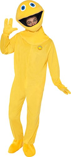 Adults Zippy From Rainbow Fancy Dress Costume. We all remember the kids TV show Rainbow from our childhood. Now you can dress-up as the show's most annoying character!