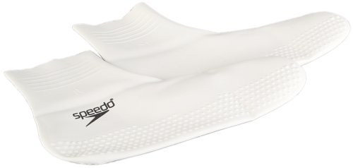 Speedo Erwachsene Accessoires Latex Socks, White/Black, S, 8-709302144S
