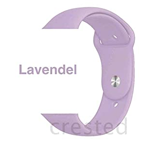 Armband für Apple Watch in Lavendel 38/40mm passend für Apple Watch 1 2 3 4 5