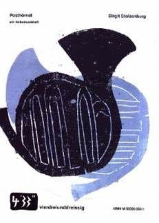 POSTHOERNDL - EIN VOLKSMUSIKHEFT - arrangiert für Hackbrett - Zither - Querflöte - Instrumental-Ausgabe [Noten / Sheetmusic] Komponist: STOLZENBURG BIRGIT