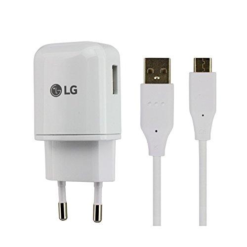 Cargador Original LG MCS-H05ER Carga Rapida + Cable para LG G5, G6, Nexus 5X, 6P, V20, V30, Bulk