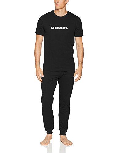 Diesel Herren Schlafanzug, Loungewear, Umset Jake Julio Pyjama im Geschenkkarton: Farbe: Schwarz | Größe: XL (Gr. X-Large) - Diesel Jake