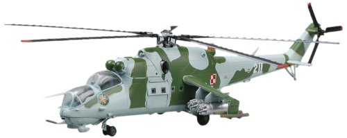 Easy Model 37038 Fertigmodell Mi-24 Polish Aif Force No. 741 (Mi-hubschrauber)