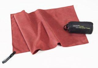 Cocoon Ultralight Towel, superleichtes Mikrofaser-/Sport-/Reisehandtuch (marsala red, XL)