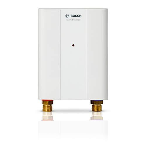 Bosch elektronischer Kleindurchlauferhitzer Tronic 4000 6 EB, kompakter übertisch Durchlauferhitzer mit Festanschluss, Energieklasse A,  6 kW