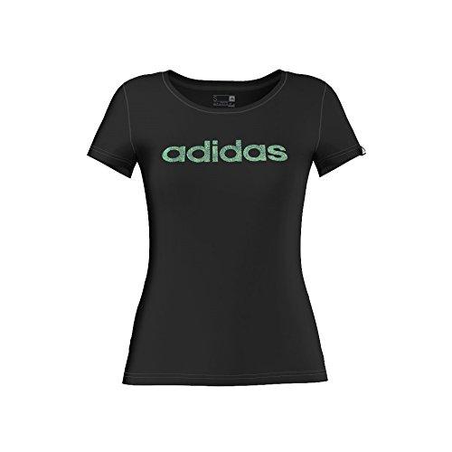 Adidas t-shirt pour femme glam Noir - Noir