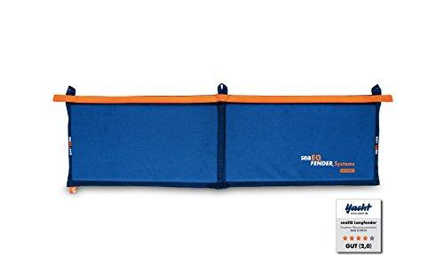 seaEQ YACHTSPORT EQUIPPED Langfender Fendermatte Flachfender LF 1400 blau