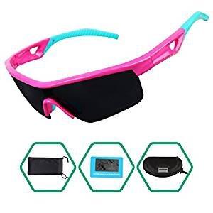 GARDOM Sunglasses for Kids, Polarized Sunglasses for Boys Girls Cycling Fishing Hiking