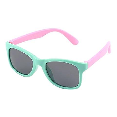 Lunette De Soleil Verte - CGID caoutchouc flexible enfants wayfarer lunettes de
