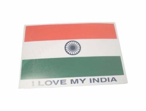 Enfield City County (Royal Enfield City 2I love my Indien Flagge Aufkleber Pack