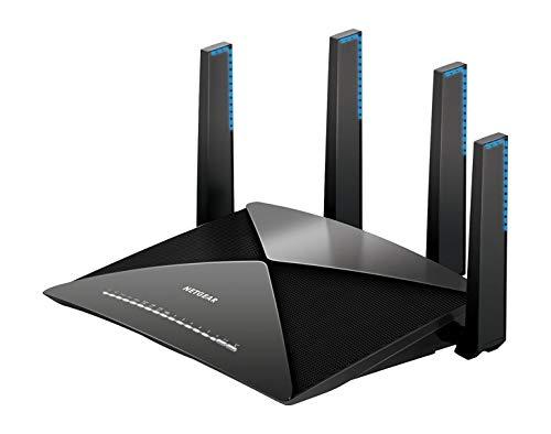 Netgear Router WiFi Nighthawk, Compatibile con Alexa e Google Home, Streaming 4k, Velocità AD7200(R9000)