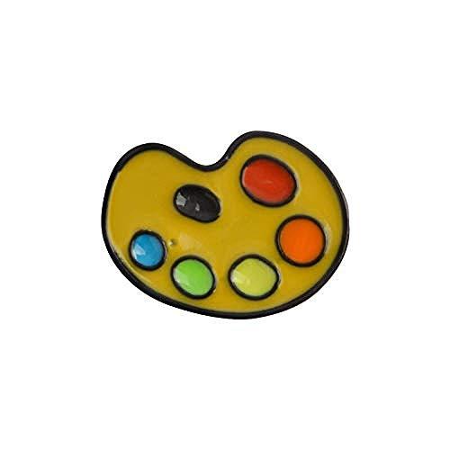 JXtong2 Spilla Strumenti di Pittura Tavolozza Pennello Tubo Pennello Spilla Arcobaleno Art Smalto Pin Artista Regalo Zaino...