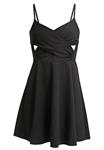 MISS SELFRIDGE PETITE Jerseykleid - black Gr. 36