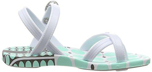 Ipanema Fashion Sd Iii Kids, Tongs fille Multicolore - Mehrfarbig (white white green 8527)