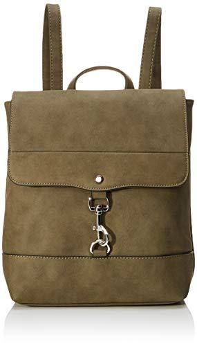 TOM TAILOR Rucksack Damen Fria, Grün (Khaki), 26.5x28x9.5 cm,  TOM TAILOR Rucksackhandtasche, Damenrucksack,handtasche rucksack damen