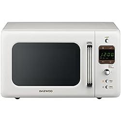 Daewoo KOR 6LBC Four à micro-ondes numérique, Blanc
