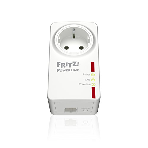 AVM FRITZ!Powerline 530E Set (500 Mbit/s, Fast-Ethernet-LAN, Steckdose) deutschsprachige Version - 2