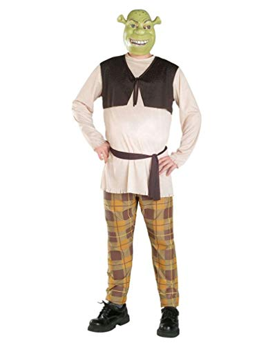 Kostüm Shrek Oger - Shrek Herrenkostüm Supreme