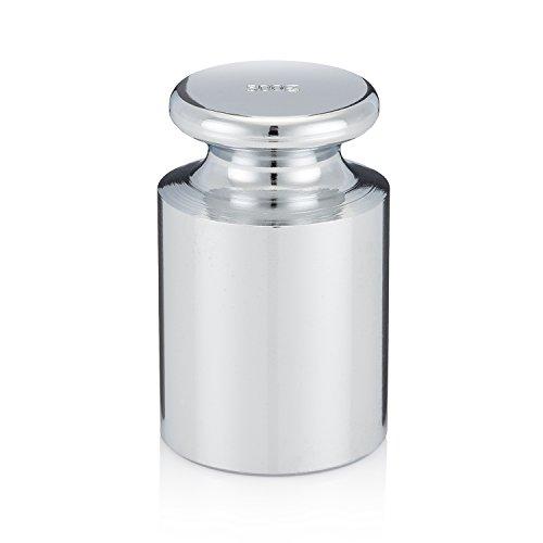 Smart Weigh CW-100g Verchromt 500g C-Stahl OIML Klasse M1: ± 25 mg Kalibriergewicht mit Chrom-Finish