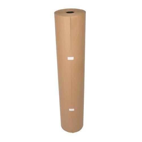1 Rolle Natronpapier 100 cm x 250 m braun Natronmischpapier Polsterpapier Packpapier thumbnail