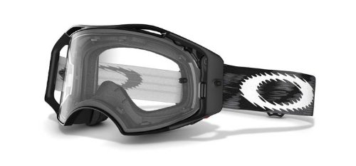 Oakley Mx Goggle AIRBRAKE, Jet Black Speed/Clear, UNI, 57-979