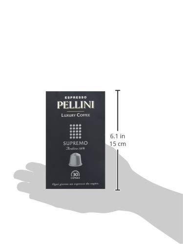 Pellini Caffè - Espresso Pellini Luxury Coffee Supremo (Astuccio da 30 Capsule), Compatibili Nespresso 4 spesavip
