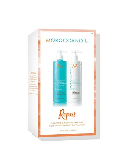 Moroccan Oil Repair Shampoo And Conditioner Duo 500ml Boxed Gift Set -